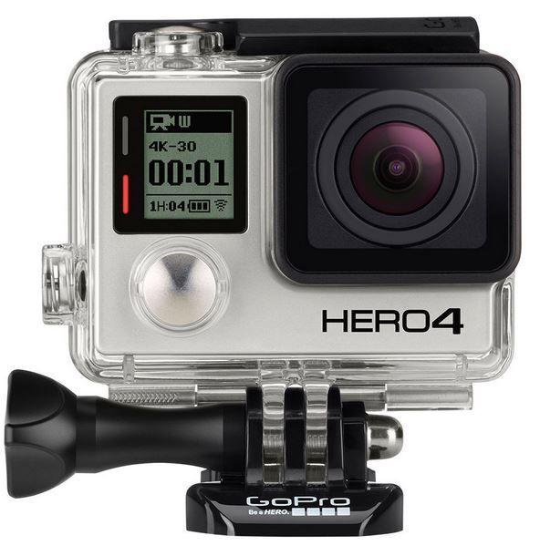 GoPro silver GoPro HERO 4 Silver   Actionkamera mit WiFi (refurb.) für nur 230€