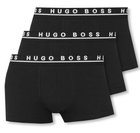 HUGO BOSS   3er Pack Herren Boxershorts für 29,99€