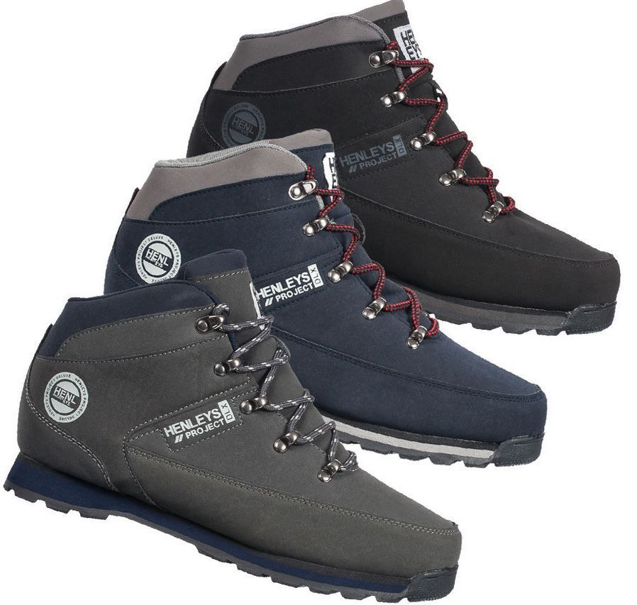 HENLEYS Hiker Herren Winter Boots für 26,99€