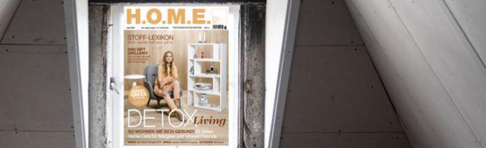 HOME 12 Ausgaben H.O.M.E. kostenlos (Abo endet automatisch) für Studenten