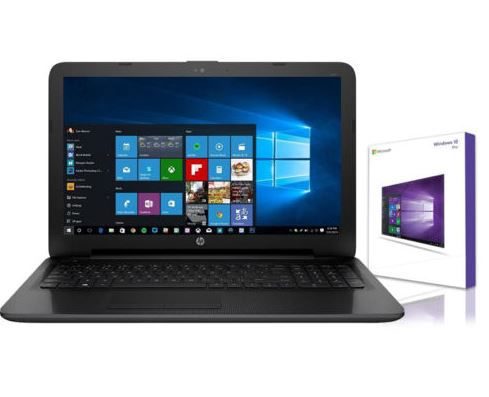 HP Notebook 15,6 Zoll mit 1TB HDD &  Windows 10 Pro für 249€