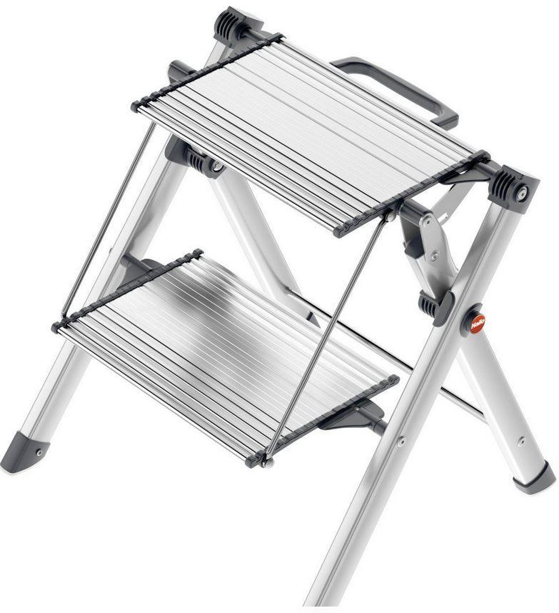 Hailo 4310 100 Mini Comfort   2 Stufen Leiter für nur 39,99€