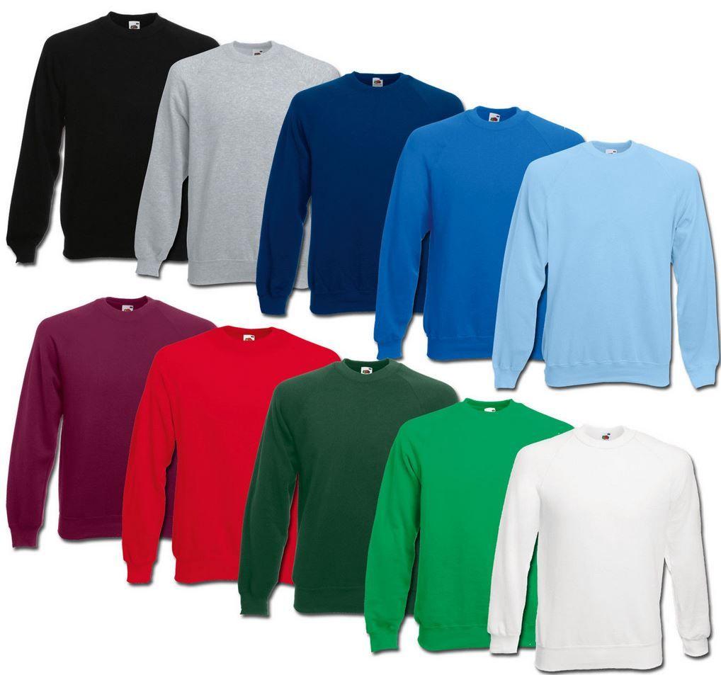 Herren Swaetshirts Fruit of the Loom   Herren Sweatshirts (280g) div. Farben für je 9,99€