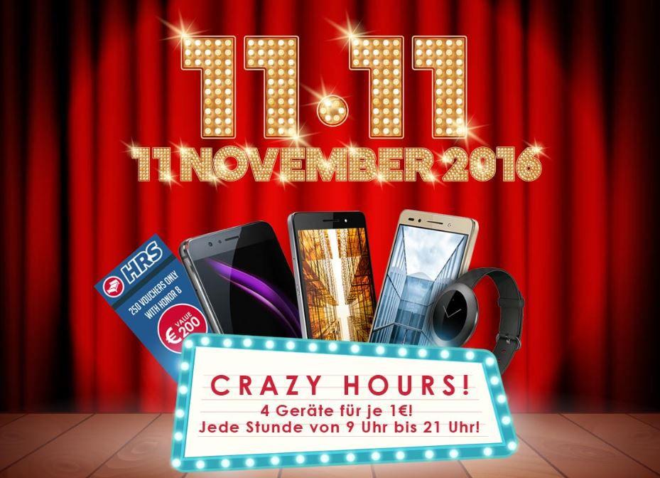 Ab 9 Uhr: Honor Smartphones und Watch im Stunden Takt für nur 1€