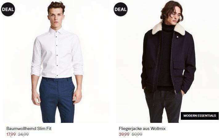 H&M Cyber Monday Sale: bis 60% Rabatt   günstige Schuhe, Jacken, Shirts .....