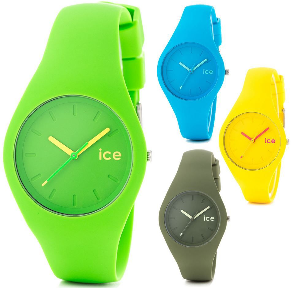 Ice Ola und Ice Glam Forest   Unisex Uhren für je 34,99€
