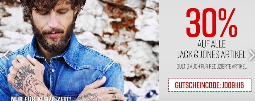 JundJ Rabatt Jack & Jones mit 30% EXTRA Rabatt auf ALLE Artikel   Jeans direct