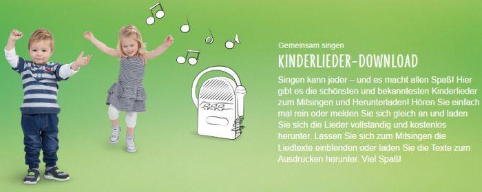 48 Kinderlieder kostenlos herunterladen