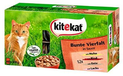 Kitekat Bunte Vielfalt Katzenfutter Tierfutter günstig online kaufen – Der große Schnäppchen Guide