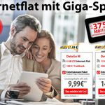 6GB bzw. 12GB Vodafone LTE Flat (bis zu 375 Mbit/s) ab effektiv 9,99€/Monat