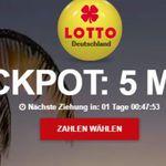 5 Lotto-Felder und 5 Rubbellose geschenkt (Neukunden)