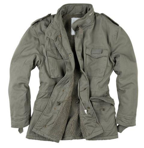 SURPLUS RAW Vintage M65   Herren Paratrooper Winter Feldjacke bis 5XL für 39,90€ (statt 80€)