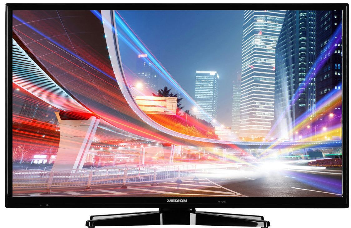 Medion Life S18037   50 Zoll TV mit FullHD DVB T2 Triple Tuner für 379,99€