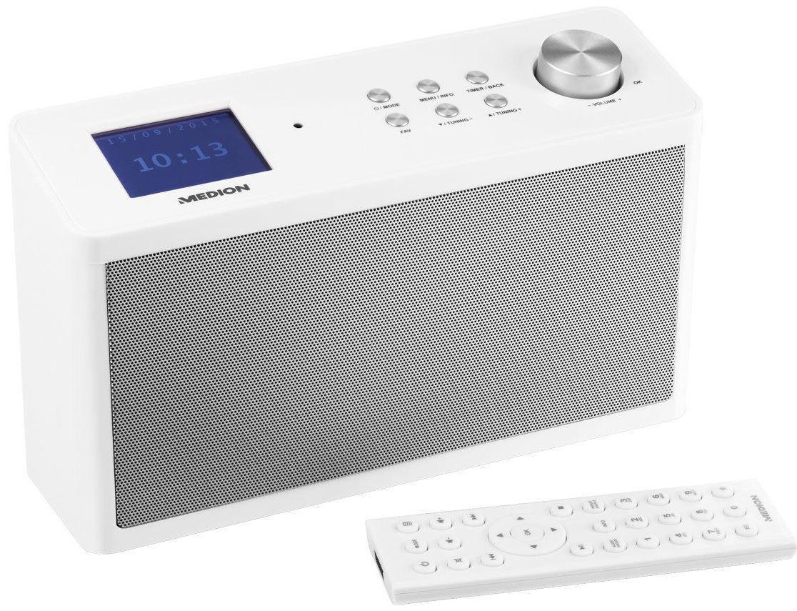 MEDION P83302   WLAN Internet Radio mit UKW, DAB+ und App Steuerung für nur 89,95€ (statt 106€)