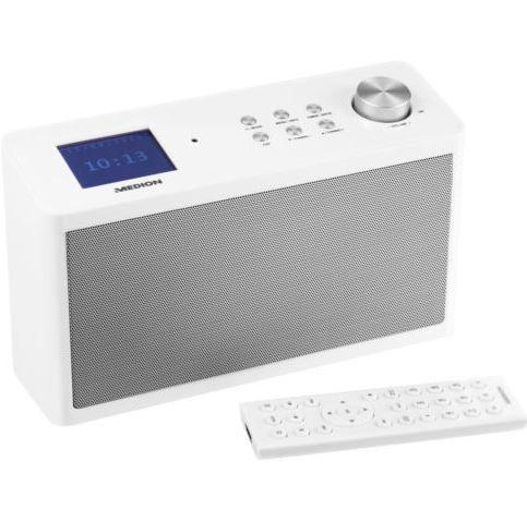 MEDION P83302   WLAN Internet Radio mit UKW, DAB+ und App Steuerung für nur 89,99€ (statt 119€)