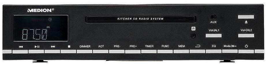 Medion LIFE E66281 (MD 84627) CD Küchenunterbauradio statt 39,95€ für nur 31,94€