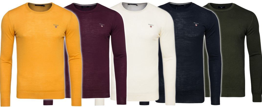Mernino Gant Pullover GANT Merino Lambswool Pullover für 19,99€   nur Restgrößen!
