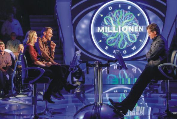 """Millionen Show Freikarten für """"Die Millionenshow"""" im Februar und März"""