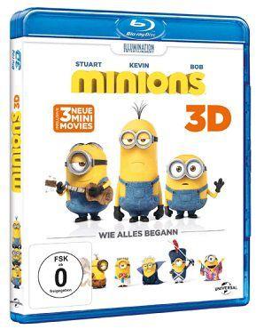 Minions   Wie alles begann (3D Blu Ray) + Minions Handyhülle ab 17,99€ (statt 30€)