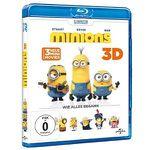 Minions – Wie alles begann (3D Blu-Ray) + Minions Handyhülle ab 17,99€ (statt 30€)