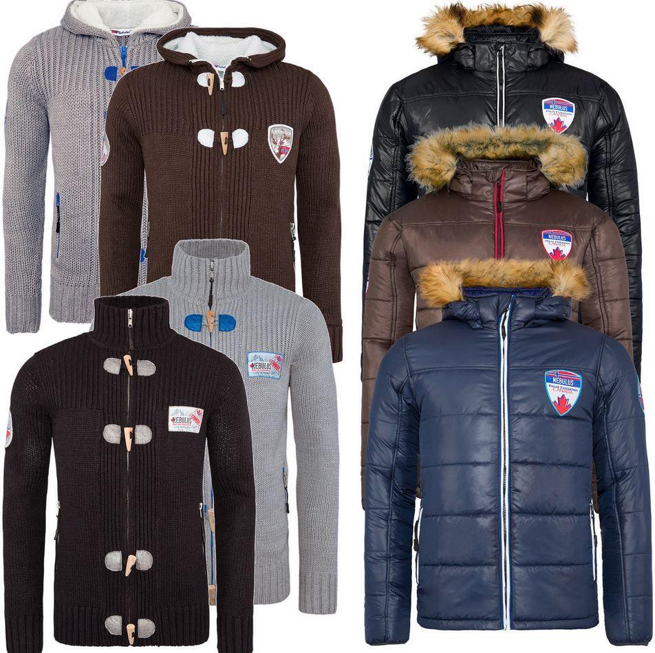 Nebulus Winter Jacken Nebulus Strick  & Winterjacken   für Damen und Herren je 39,99€