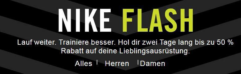 Letzter Tag! Nike Sale mit bis zu 50% Rabatt + VSK frei ab 50€   Günstige Nike Flyknit oder Trainingsoutfit