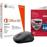 Microsoft Starter Bundle inkl. Office 365 Wireless Mouse 3500 McAfee Live Scan