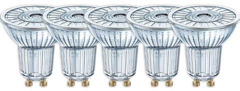 Osram LED Star PAR16   5er Pack LED Strahler GU10 wie 50W für 19,99€