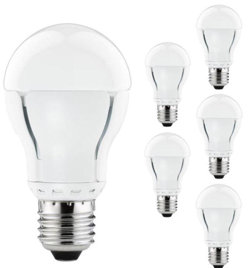 Paulmann AGL   6,5W LED dimmbar E27 im 6er Set für nur 15,99€