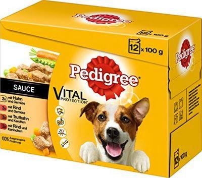 Pedigree Hundefutter in Sauce Tierfutter günstig online kaufen – Der große Schnäppchen Guide