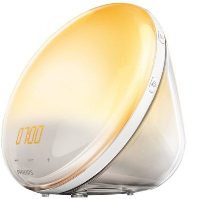 Philips HF3531   Wake Up Light mit Sonnenaufgangfunktion, Radio für 99,99€
