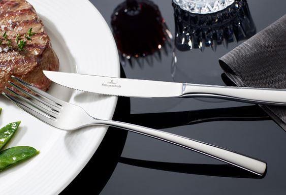 Villeroy & Boch Piemont   Edelstahl Steakbesteck 12 teilig für 26€