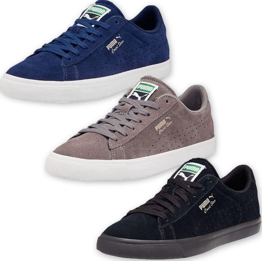 Puma Court Star Vulc Suede   Herren Leder Sneaker für 44,99€