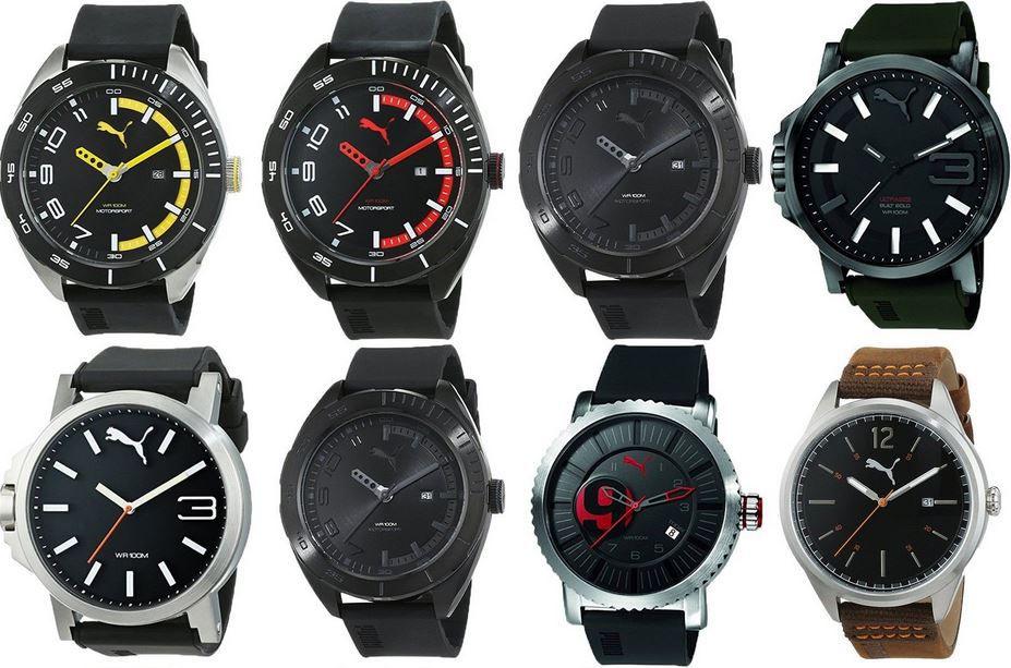 Puma Herren Uhren Puma sportliche Herren Armbanduhren für je 59,99€