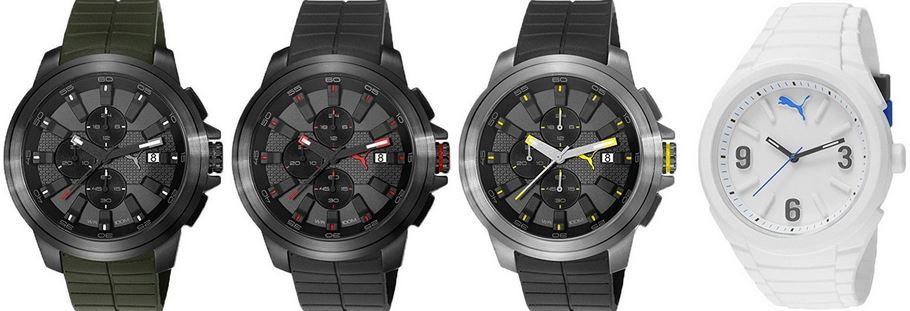 Puma sportliche Herren Armbanduhren für je 59,99€