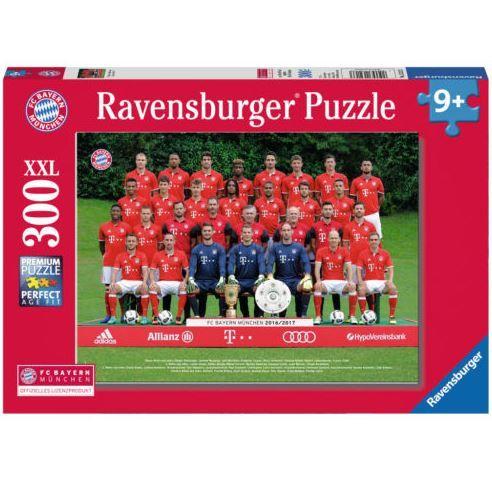 FC Bayern München 2016/2017   300 Teile Ravensburger Kinder Puzzle für 9,99€
