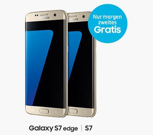 Samsung Galaxy S7 im Cybermonday   2 zum Preis von einem an 699€