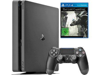 Playstation 4 Slim 1TB + The Last Guardian + UEFA Euro 2016 für 249€ (statt 317€)