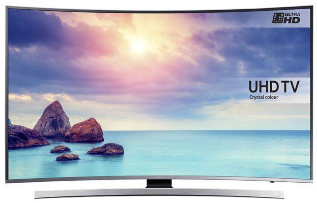 Samsung UE49KU6640 (49 Zoll, Curved, UHD) für nur 708,90€ (statt 890€)