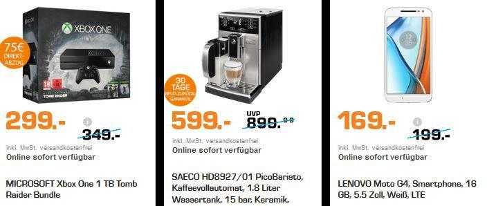 Saturn Black Week Angebote Samstag Saeco HD8927 PicoBaristo Kaffeevollautomaten statt 800€ für 599€   SATURN Black Week Angebote!