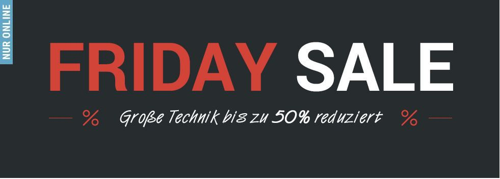 Tchibo Friday Sale mit Technik Artikeln bis zu 50% reduziert