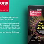 2 Ausgaben Technology Reviews (digital) gratis testen – Kündigung notwendig