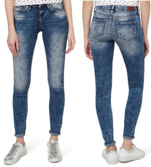 TOM TAILOR Denim Jona   Damen Jeanshose extra Skinny statt 60€ für 34,99€