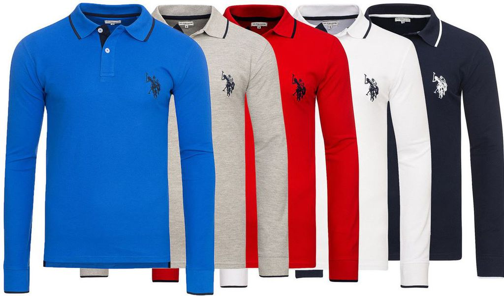 U.S. POLO ASSN Sweatshirt 1024x603 U.S. POLO ASSN.   Herren Polo Langarmshirts statt 30€ für je nur 22,99€