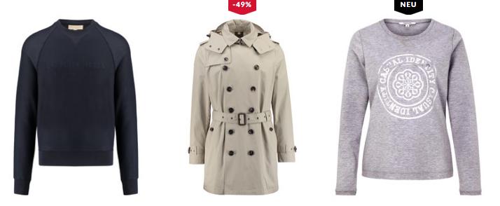 15% auf Casual Looks + 5€ Gutschein   z.B. s. Oliver Red Label Damen Shirt für 63,44€ (statt 74€)