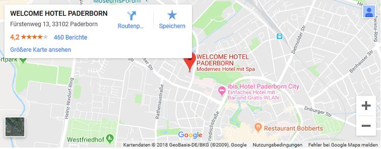 2 ÜN in Paderborn inkl. Frühstück & Dinner (1 Kind bis 11 kostenlos) ab 99€ p.P.