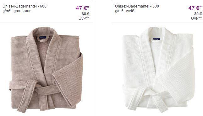 VB Bademäntel Villeroy & Boch   Bad Design mit bis zu 65% Rabatt   Möbel, Handtücher, Bademäntel, Bad Accessoires.. günstig