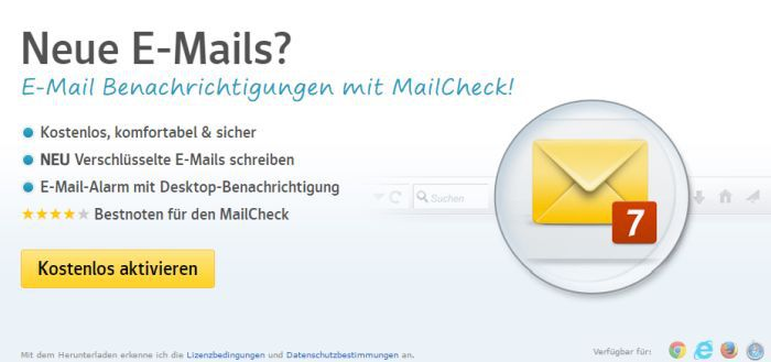 10GB E Mail Speicherplatz bei Web.de   kostenlos