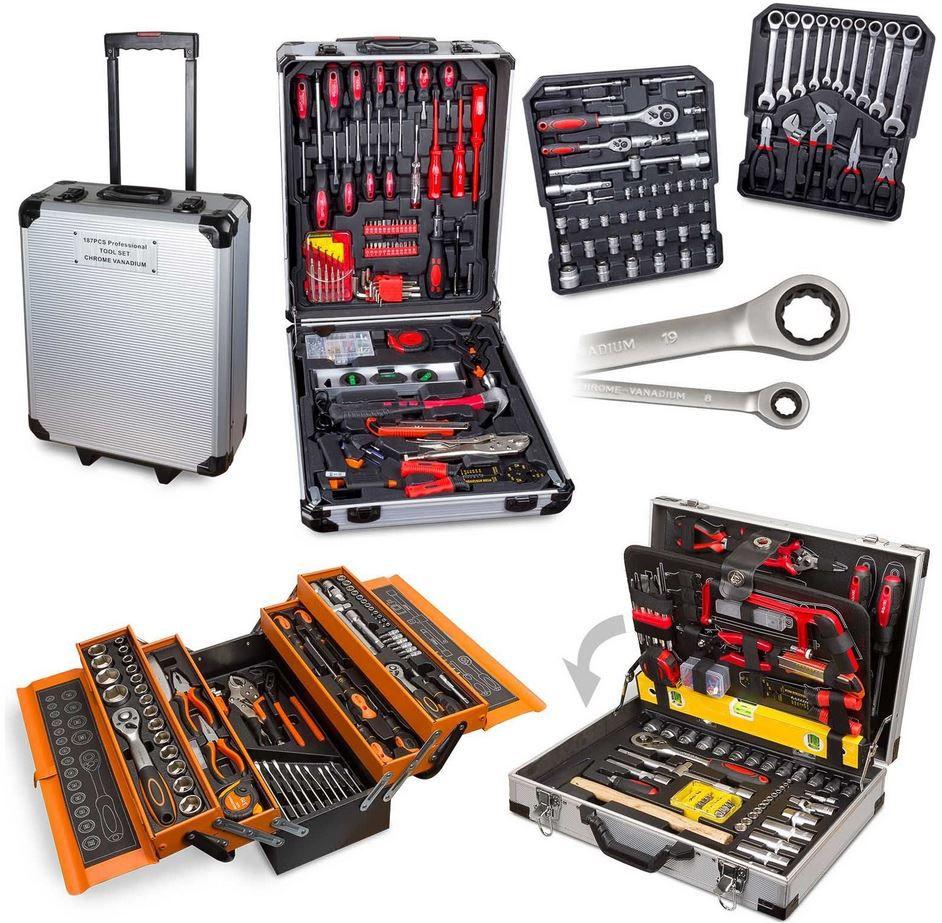 Werkzeug Kisten Angebot Julido 3 Werkzeugkoffer in verschiedenen Ausführungen für je 74,95€