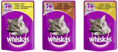 Whiskas 1+ Geflügelauswahl Sorten Übersicht Tierfutter günstig online kaufen – Der große Schnäppchen Guide